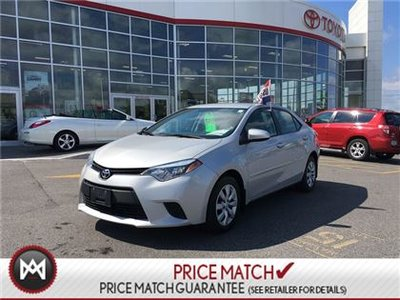 2014 Toyota Corolla LE HEATED SEATS, LED HEADLIGHTS Look at the LOW Mileage