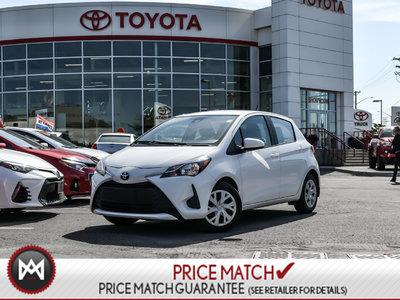 2018 Toyota Yaris Hatchback LE BACKUP CAM, BLUETOOTH, HEATED SEATS