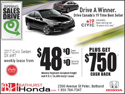 Get the 2017 Honda Civic today!