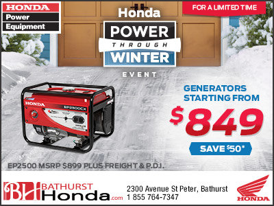 Honda generator calgary