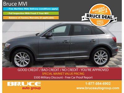 2016 Audi Q5 TECHNIK TDI QUATTRO 3.0L 6 CYL DIESEL TURBOCHARGED AWD | Bruce Hyundai