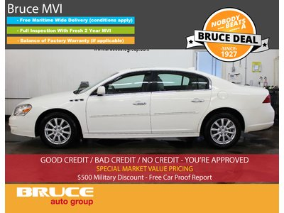 2010 Buick Lucerne CXL 3.9L 6 CYL AUTOMATIC FWD 4D SEDAN   Bruce Hyundai