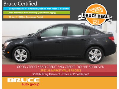 2015 Chevrolet Cruze LT - DIESEL / REMOTE START / BACK-UP CAMERA | Bruce Chevrolet Buick GMC Digby