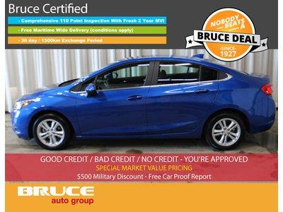 2017 Chevrolet Cruze LT - SUN ROOF / HEATED SEATS / REMOTE START   Bruce Hyundai