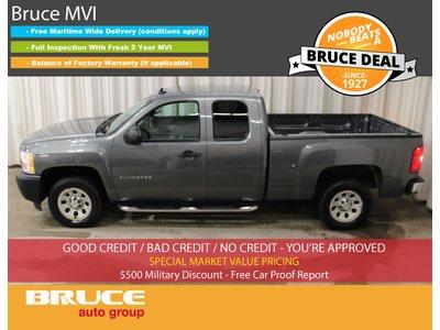 2011 Chevrolet Silverado 1500 WT 4.3L 6 CYL AUTOMATIC RWD EXTENDED CAB | Bruce Hyundai