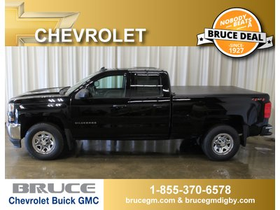 2018 Chevrolet Silverado 1500 WT 5.3L 8 CYL AUTOMATIC 4X4 EXTENDED CAB | Bruce Chevrolet Buick GMC Middleton