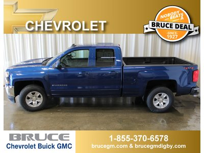 2018 Chevrolet Silverado 1500 LT 5.3L 8 CYL AUTOMATIC 4X4 EXTENDED CAB | Bruce Chevrolet Buick GMC Middleton