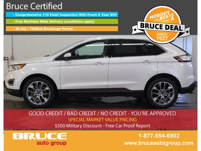 2015 Ford Edge Titanium 3.5L 6 CYL AUTOMATIC AWD | Bruce Chevrolet Buick GMC Middleton