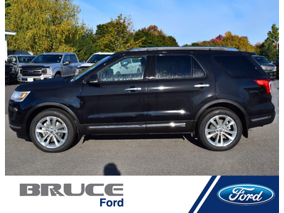 2019 Ford Explorer LIMITED   Bruce Leasing