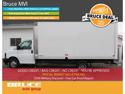 2017 GMC Savana 3500 6.0L 8 CYL AUTOMATIC RWD CUBE VAN   Bruce Hyundai