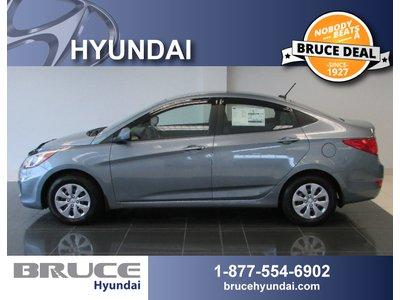 2017 Hyundai Accent L 1.6L 4 CYL 6 SPD MANUAL FWD 4D SEDAN   Bruce Hyundai