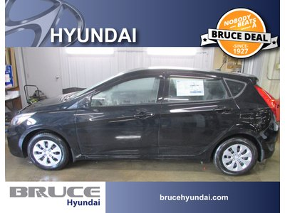 2017 Hyundai Accent GL 1.6L 4 CYL 6 SPD MANUAL FWD 5D HATCHBACK | Bruce Hyundai