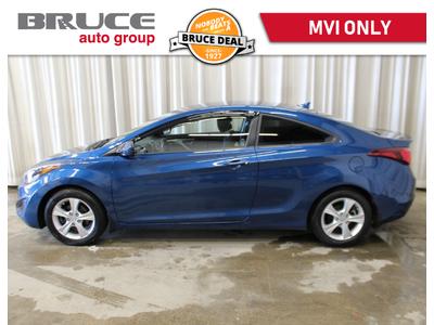 2014 Hyundai Elantra GL 2.0L 4 CYL 6 SPD MANUAL FWD 2D COUPE | Bruce Chevrolet Buick GMC Middleton
