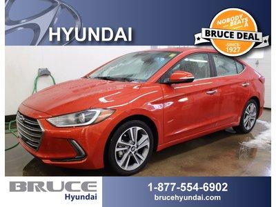2017 Hyundai Elantra Limited Ultimate 2.0L 4 CYL AUTOMATIC FWD 4D SEDAN   Bruce Hyundai