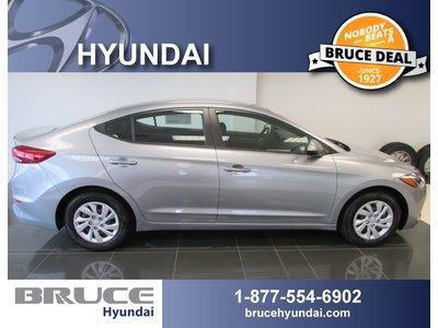 2017 Hyundai Elantra L 2.0L 4 CYL 6 SPD MANUAL FWD 4D SEDAN   Bruce Hyundai