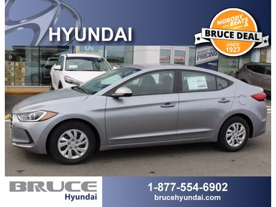 2017 Hyundai Elantra L 2.0L 4 CYL 6 SPD MANUAL FWD 4D SEDAN | Bruce Hyundai