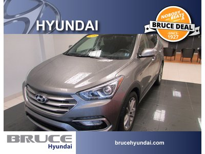 2017 Hyundai Santa Fe SPORT 2.0L 4 CYL TURBO AUTOMATIC AWD | Bruce Hyundai
