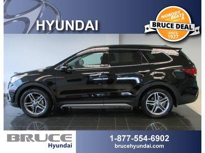 2017 Hyundai Santa Fe XL LIMITED 3.3L 6 CYL AUTOMATIC AWD   Bruce Hyundai