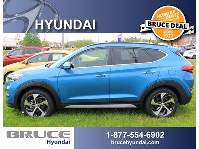 2017 Hyundai Tucson LIMITED 1.6L 4 CYL TURBO AUTOMATIC AWD | Bruce Hyundai
