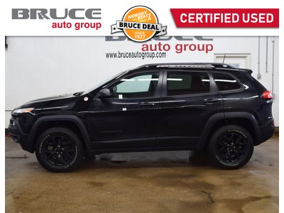 2018 Jeep Cherokee TRAILHAWK - LEATHER INTERIOR / 4X4 / REMOTE START | Bruce Leasing