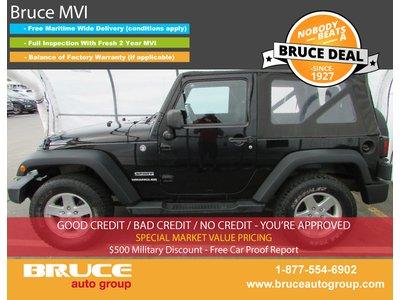 2011 Jeep Wrangler Sport 3.8L 6 CYL 5 SPD MANUAL 4X4 - 2 DOOR | Bruce Hyundai