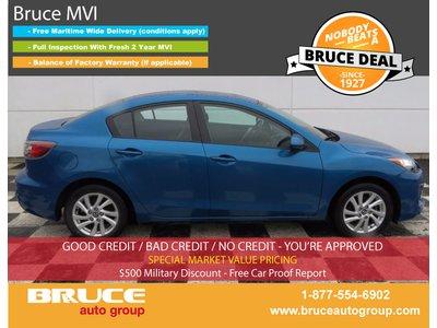2013 Mazda Mazda3 GS-SKY 2.0L 4 CYL 6 SPD MANUAL FWD 4D SEDAN | Bruce Automotive Group