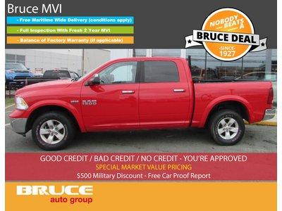 2013 Dodge RAM 1500 OUTDOORSMAN 5.7L 8 CYL AUTOMATIC 4X4 CREW CAB | Bruce Hyundai