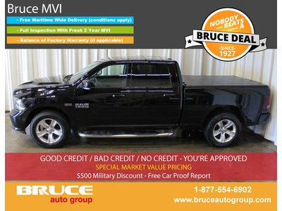 2014 Dodge RAM 1500 Sport 5.7L 8 CYL HEMI AUTOMATIC 4X4 CREW CAB | Bruce Hyundai