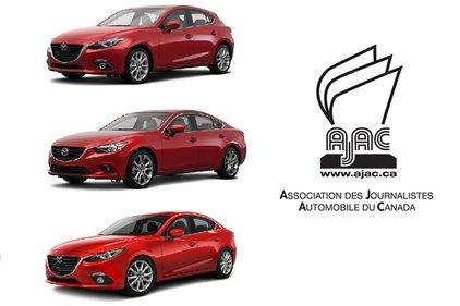 La Mazda 3 et la Mazda 6 dominent le palmarès de l'AJAC