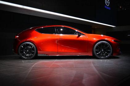 Voici les spectaculaires Mazda Kai et Mazda Coupe Vision
