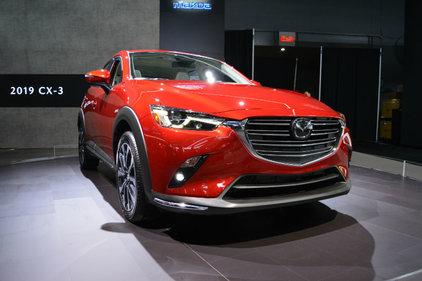 Le Mazda CX-3 2019 présenté à New York