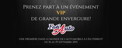 Du 16 au 19 septembre 2015, c'est le FestiAuto de l'Île Perrot