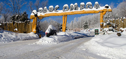 Aventure en auto avec les enfants: bienvenue au royaume des rennes de père Noël!