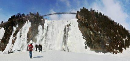 En panne d'idée ce week-end, voici trois idées folles pour profiter de l'hiver: paraski, escalade de glace et skijoring!