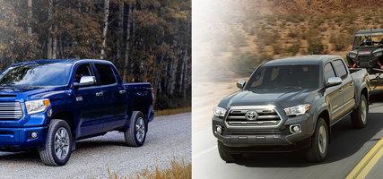 Toyota trucks - Choose the Tundra or the Tacoma!