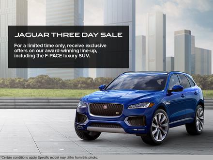 Jaguar Three Day Sale