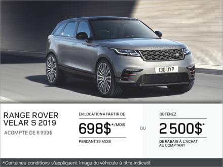 Le Range Rover Velar S 2019