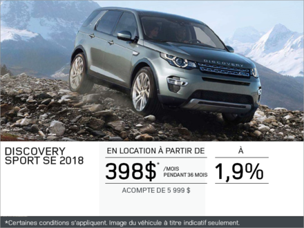 Le Discovery Sport 2018