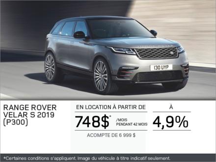 Le Range Rover Velar 2019