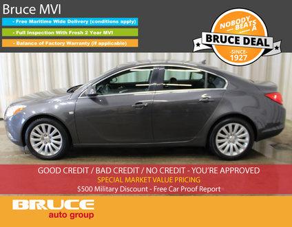 2011 Buick Regal CXL 2.4L 4 CYL AUTOMATIC FWD 4D SEDAN