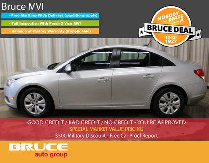 2014 Chevrolet Cruze LT 1.4L 4 CYL AUTOMATIC FWD 4D SEDAN