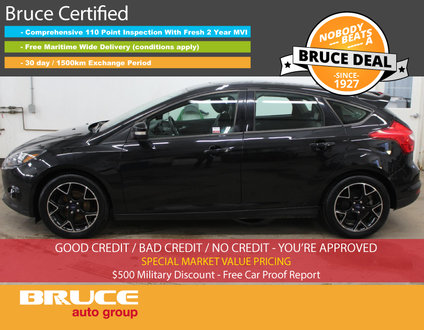2013 Ford Focus SE - SUN ROOF / HEATED SEATS / LEATHER INTERIOR