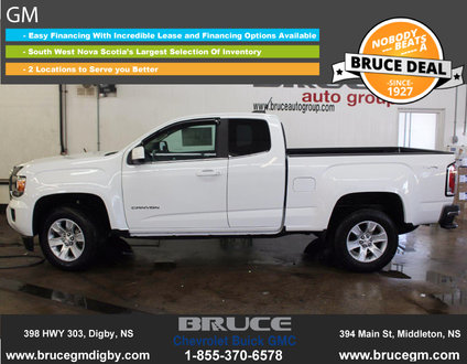 new 2016 gmc canyon sle 3 6l 6 cyl automatic 4x4 extended cab in digby 0. Black Bedroom Furniture Sets. Home Design Ideas