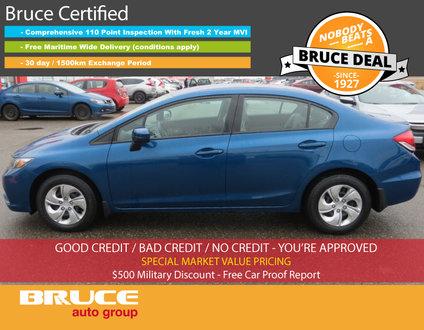 2015 Honda Civic LX - BLUETOOTH / HEATED SEATS / BACK-UP CAMERA
