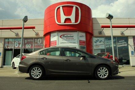 2012 Honda Civic Sdn EX - POWER MOONROOF - BLUETOOTH - ECON BUTTON