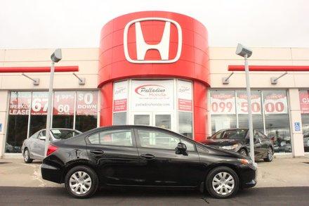 2012 Honda Civic Sdn LX - ECON BUTTON - BLUETOOTH - A/C