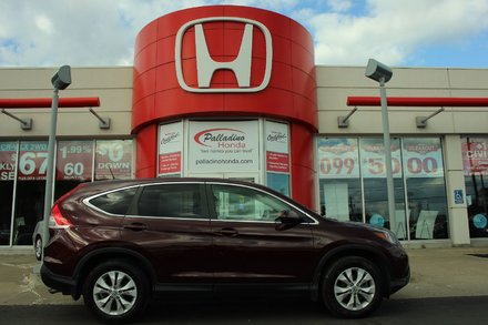 2012 Honda CR-V EX-L - LEATHER - MOONROOF - BLUETOOTH