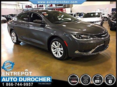 2016 Chrysler 200 LIMITED, AUTOMATIQUE, JANTES, BLUETOOTH, UCONNECT