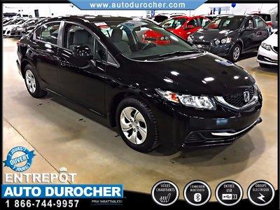 Honda Civic Sdn LX AUTOMATIQUE TOUT ÉQUIPÉ 2013