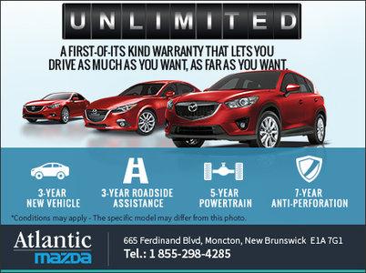 Mazda's Unlimited Mileage Warranty